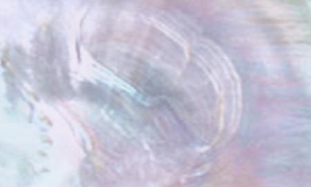 Abstrakter Illustrationshintergrund mit schimmerndem Oberteil der Perlmuttaqua und der Flieder