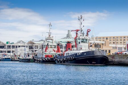Tug boats at the Victoria and Alfred Waterfront, Cape Town
