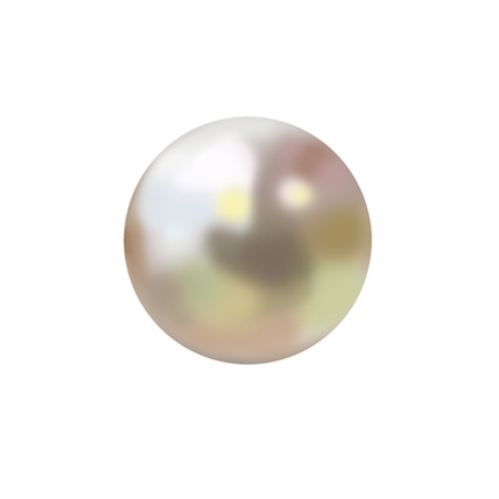 Pearl isolated on white background Standard-Bild - 102808720