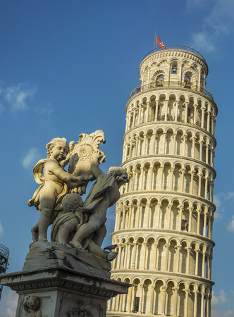 The Leaning Tower of Pisa is the freestanding bell tower of the cathedral of the Italian city of Pisa, known worldwide for its unintended tilt.