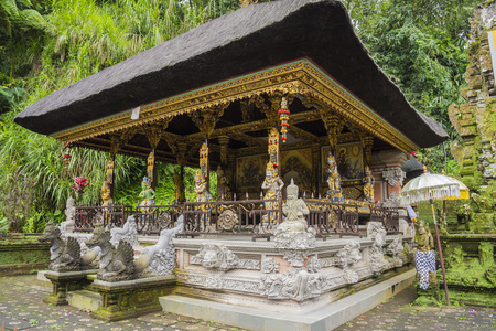 Gunung Kawi Sebatu Temple, Ubud, Bali, Indonesia. The temple complex is located within the highland village of Sebatu in Tegallalang, Gianyar, approximately 12km northeast from the main Ubud hub. 版權商用圖片