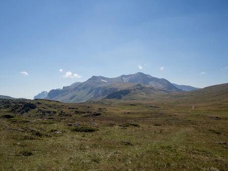 the crags: landscape