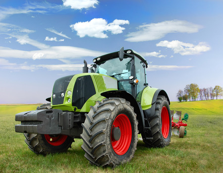 Tractor Banco de Imagens