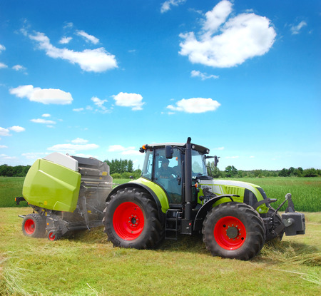 agronomics: Tractor Stock Photo