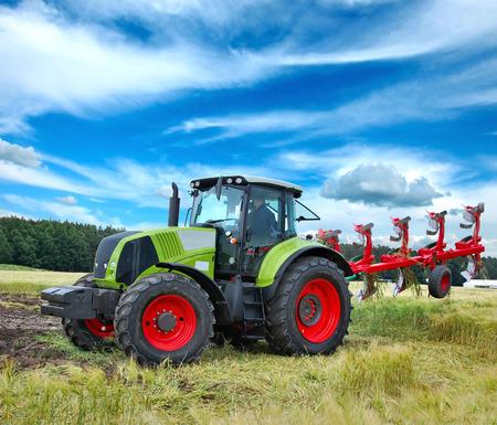agronomics: Tractor Stock Photo