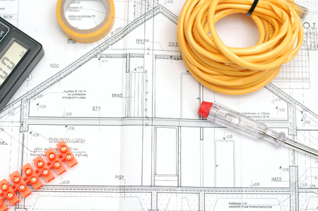 residential building insurance: House building plan