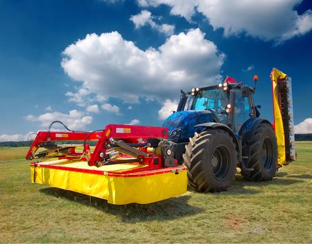 commodities: tractor Foto de archivo