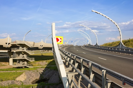 Junction of highways photo
