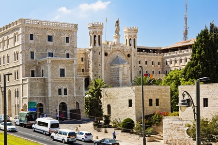 Complex of Notre-Dame de France  Jerusalem Stock Photo - 16531695
