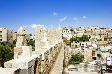 View from the walls of ancient Jerusalem Stock Photo - 16528929