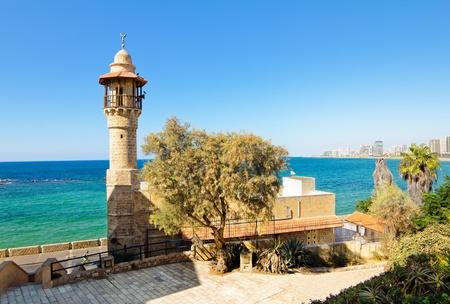 yaffo: Sea mosque in the ancient Jaffa