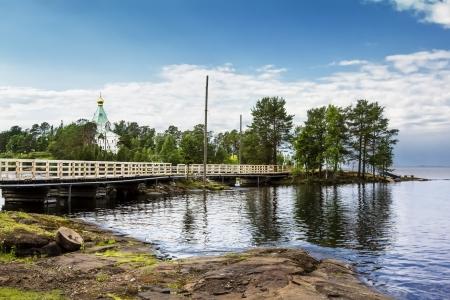 Valaam monasteryValaam Island, Lake Ladoga photo