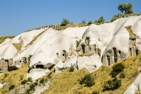 The Valley of the pigeons in Capadocia, Turkey