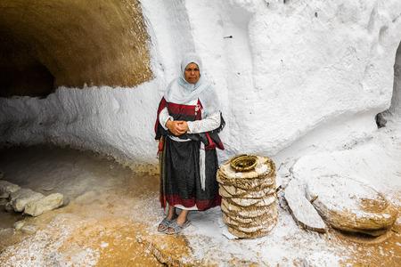 matmata: Underground House of trogladites in the desert of Tunisia,Matmata Editorial
