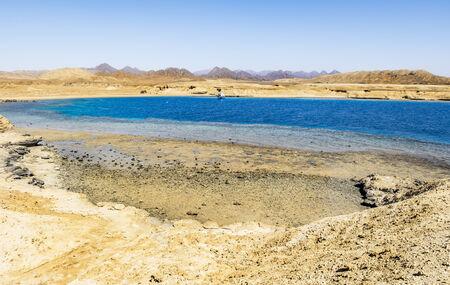 mohammed: Sea Landscape of the National Park of Ras Mohammed in Sharm el Sheikh Egypt