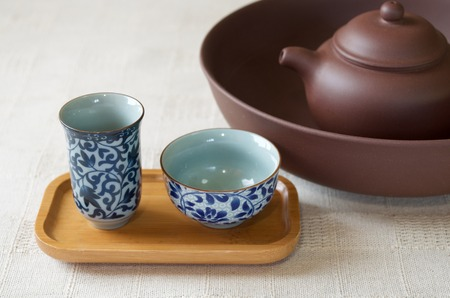 tea set: China tea set