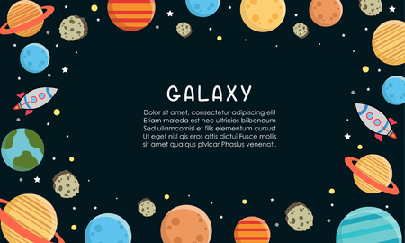 Space Galaxy constellation pattern print could Illustration