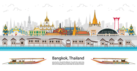 Travel to Thailand and landmarks