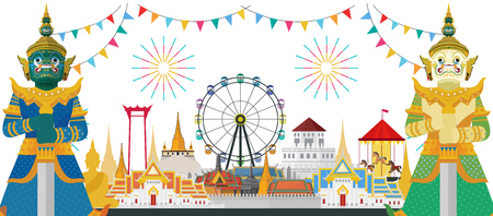 Thailand and travel in Bangkok city