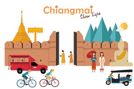 Travel to Chiangmai. Amazing in Northern Thailand