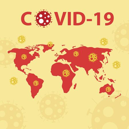 Covid-19 spread of around the world