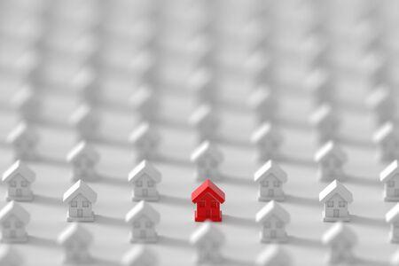 multiple house: Home market background
