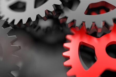 Gears Hintergrund Standard-Bild - 50713339