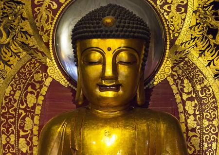buddhist: Buddhist temple in Guangzhou, China Stock Photo