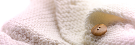 textile industry: Natural wool background, textile industry Stock Photo