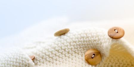 industria textil: fondo de lana natural, la industria textil Foto de archivo