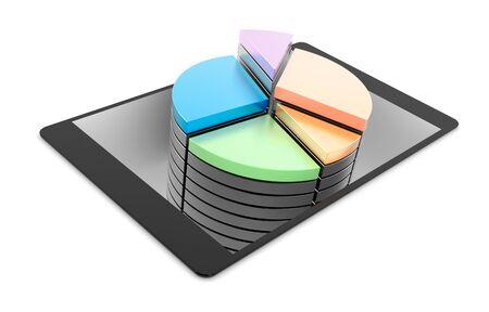 three dimensional background: Original three dimensional background, business and financial concepts