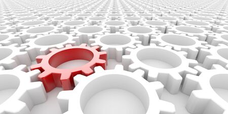 Führung, Wirtschaft und Teamwork-Konzepte Standard-Bild - 55639655