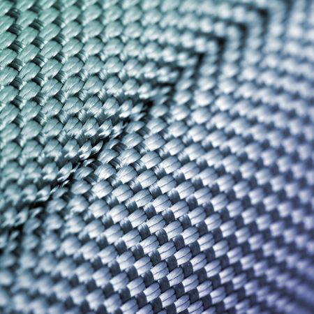 Textile and fabric industry background Stock Photo