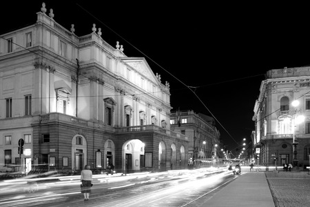 Scala theatre in Milan, Italy Editorial