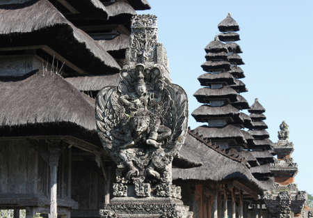 hinduist: Hinduist temple in Bali, Indonesia