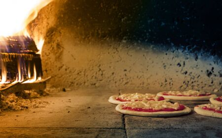 woodfire: Traditional fire oven for pizza, Italian style