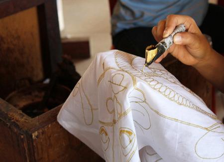 Batik handgemaakte stof, Indonesië
