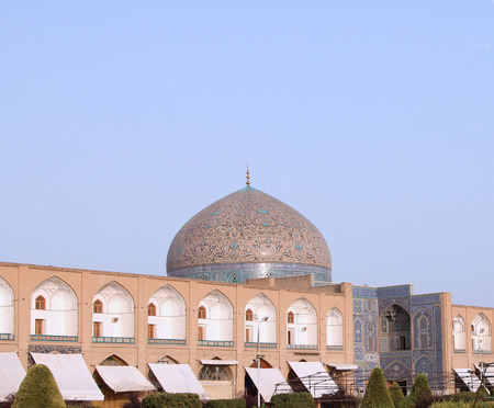 isfahan: Famous mosque in Isfahan, Iran Stock Photo