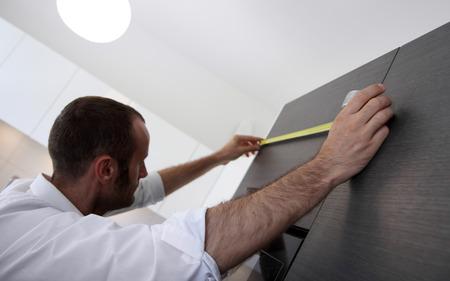 interiors design: Home interiors design and renovation concepts Stock Photo