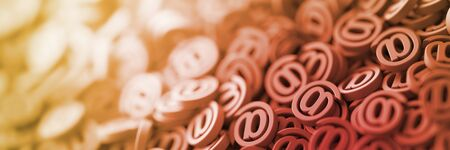Email infinite symbols, 3d rendering background