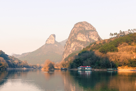 Popular Asian touristic destination