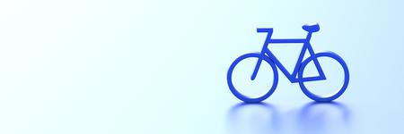 original bike: Bike 3d illustration, original 3d rendering Stock Photo