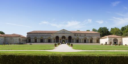 te: Palazzo del Te in the famous town of Mantua, in the north of Italy Editorial