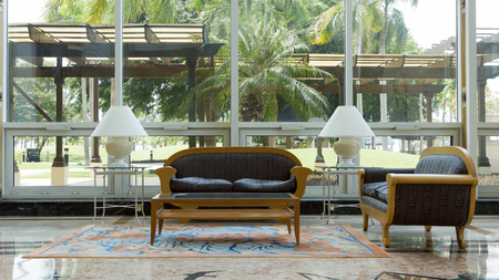 royalty free: Luxury resort interiors, royalty free unrecognizable photo