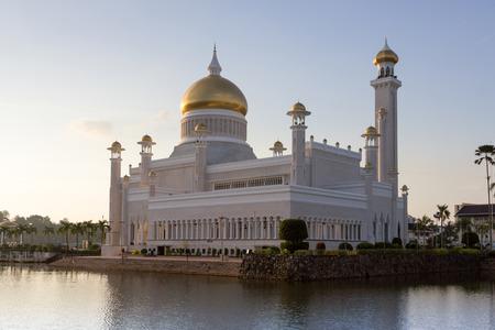 Brunei main mosque in the city of Bandar