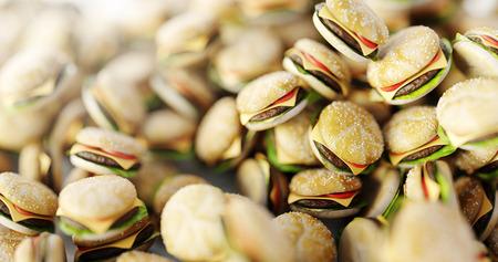 Infinite hamburger background, original 3d rendering Stock Photo