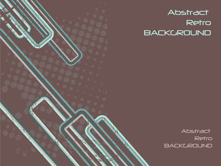 text area: grungy abstract retro background with text area