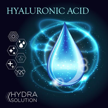 Hyaluronic Acid Oil Serum Essence 3D Droplet