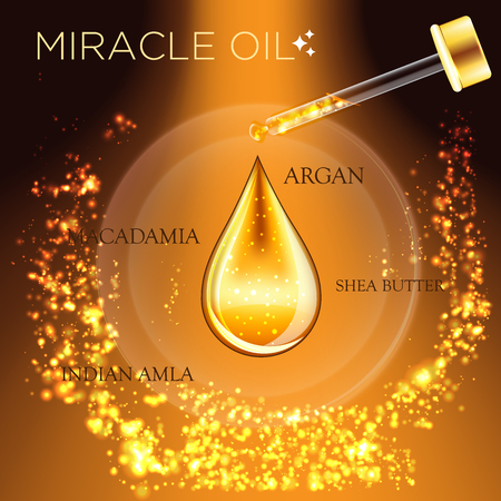 Miracle Oil Serum Essence 3D Droplet
