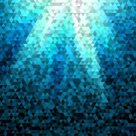 two dimensional shape: A illustration of abstract geometric polygon triangle grid background.